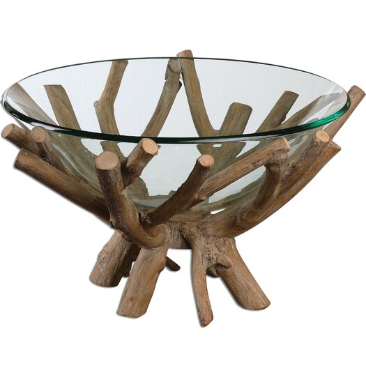 Uttermost Thoro Fruit Bowl