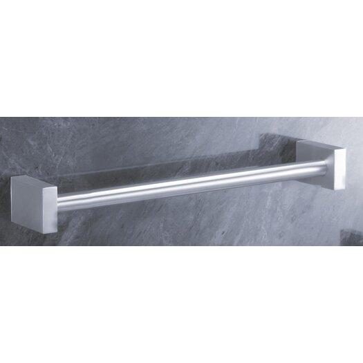 "ZACK Bathroom Accessories 18.7"" Wall Mounted Fresco Towel Rail"