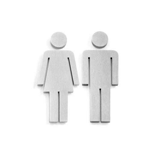 ZACK Indici Door Symbol Woman and Man Set