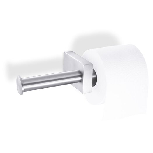 ZACK Bathroom Accessories Wall Mounted Fresco 2 Sided Toilet Paper Holder
