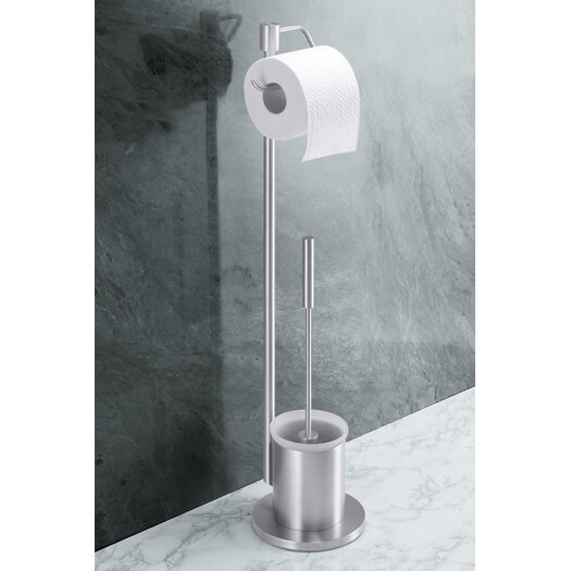 ZACK Bathroom Accessories Freestanding Marino Toilet Butler