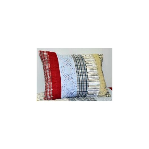 Bacati Plaids and Stripes Boys Standard Sham