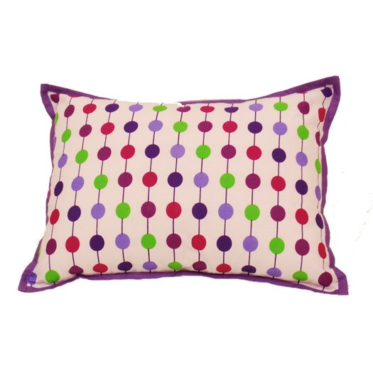 Bacati Botanical Sanctuary String Decorative Pillow