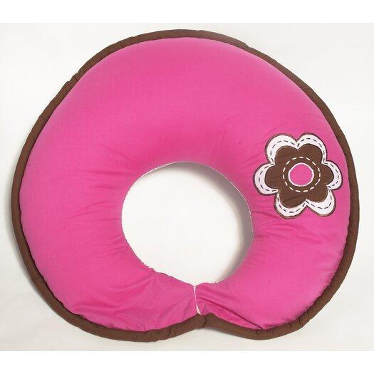 Bacati Damask Nursing Pillow cover