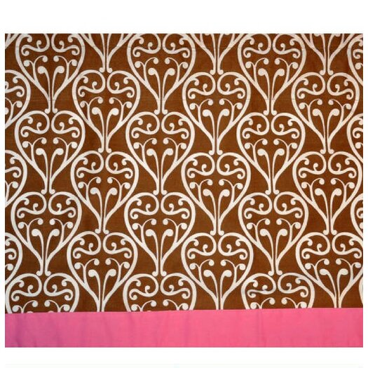 "Bacati Damask 58"" Curtain Valance"