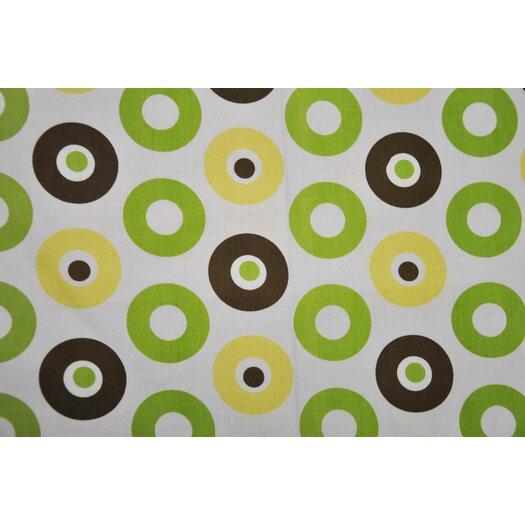 Bacati Mod Dots Cotton Rod Pocket Curtain Panel