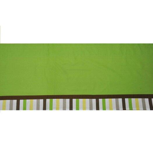 "Bacati Mod Dots and Stripes 58"" Curtain Valance"