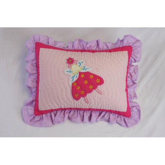 Bacati Fairyland Boudoir Pillow