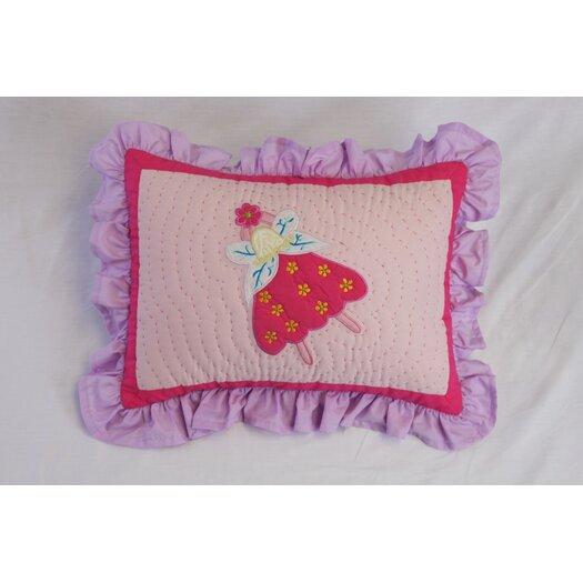 Bacati Fairyland Boudoir Pillow