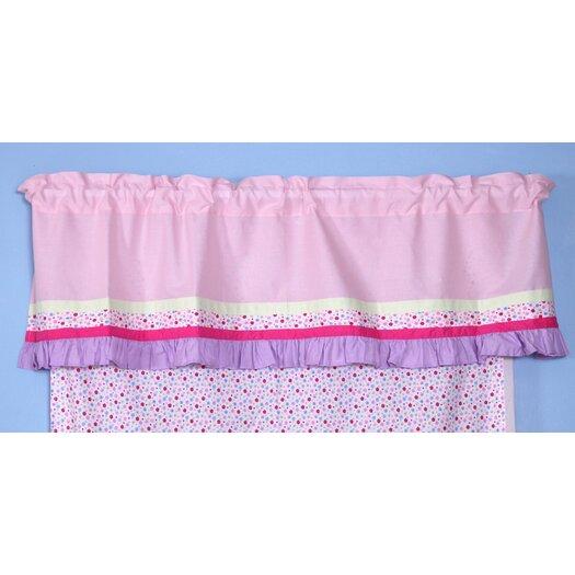 "Bacati Fairyland 58"" Curtain Valance"