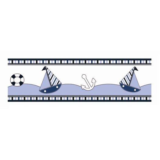 Bacati Little Sailor Wallpaper Border
