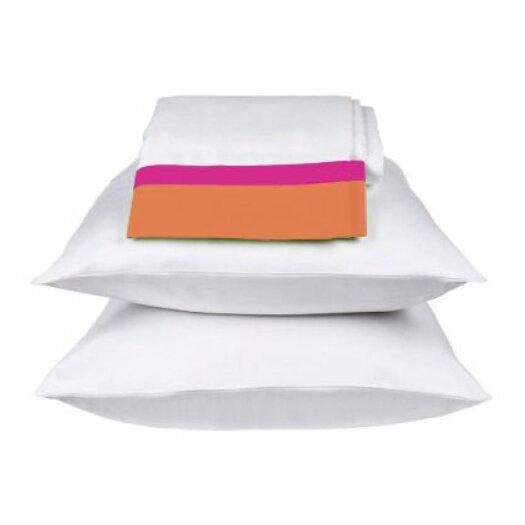 Bacati Tangerine Standard Pillowcase