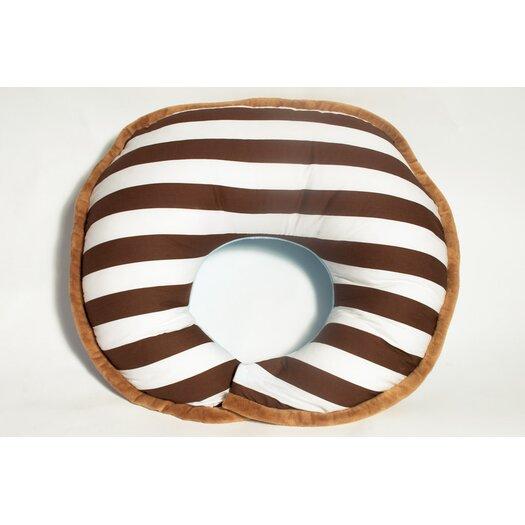 Bacati Stripes Nursing Pillow Cover