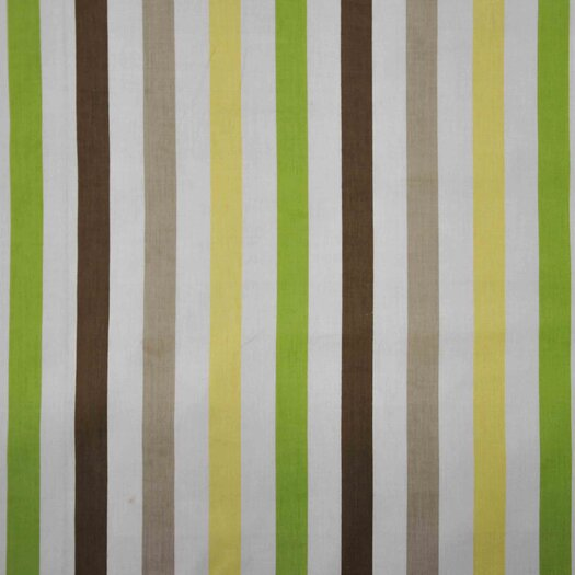 Bacati Mod Dots and Stripes Crib Fitted Sheet