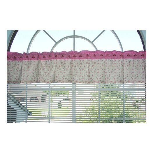 """Bacati Summer Garden 60"""" Curtain Valance"""