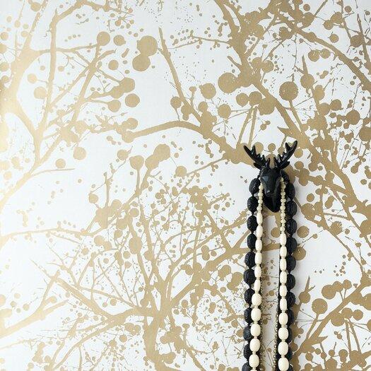 ferm LIVING Wilderness Wallsmart Floral Botanical Wallpaper