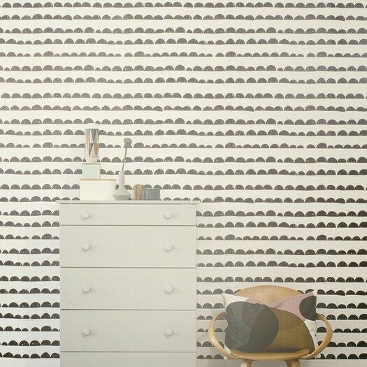 ferm LIVING Half Moon Wallpaper