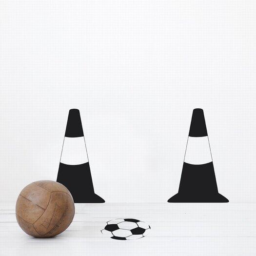 ferm LIVING Kids Football Game Wall Decal