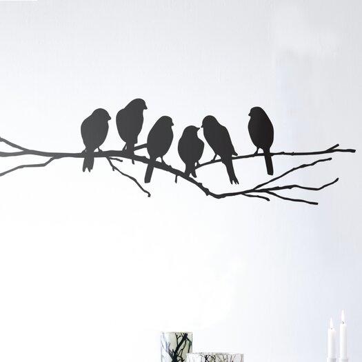 ferm LIVING Lovebirds Wall Decal