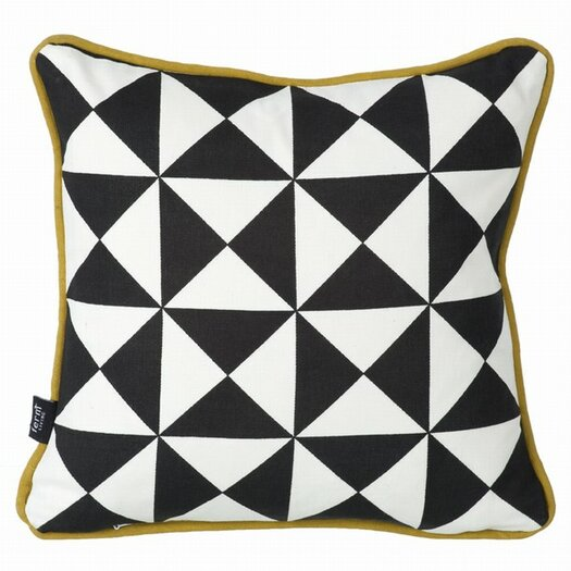 Little Geometry Organic Throw Pillow