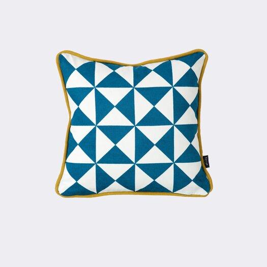 ferm LIVING Little Geometry Organic Throw Pillow