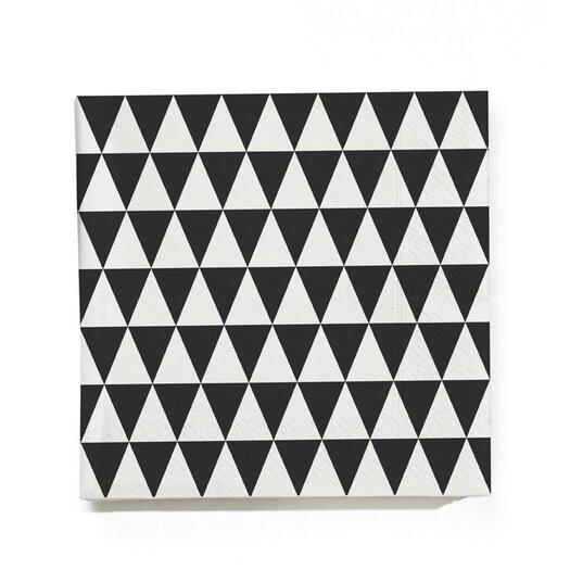 ferm LIVING (20 per Carton) Triangle Napkin