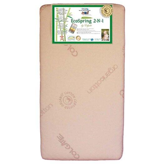 Colgate Eco Spring 2-n-1 Dual Firmness Crib Mattress