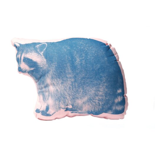 Mini Organic Cotton Raccoon Cushion