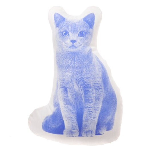 Fauna Mini Shorthair Cat Throw Pillow