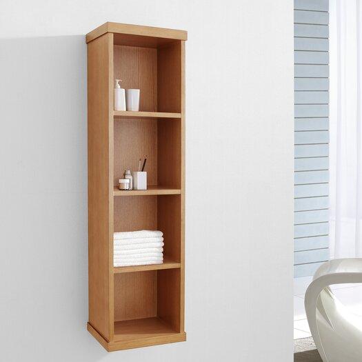 "Virtu Hewitt 47.2"" x 11.8"" Wall Mounted Bathroom Shelf"