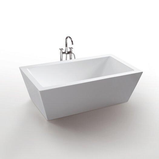 """Virtu Serenity 67"""" x 32"""" Bathtub"""
