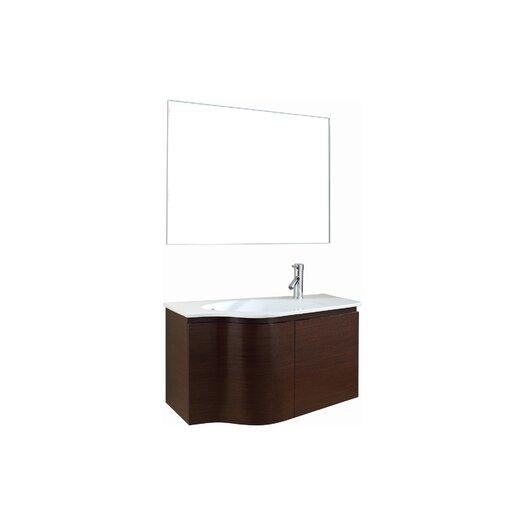 """Virtu Roselle 35"""" Bathroom Vanity Set with Single Sink"""
