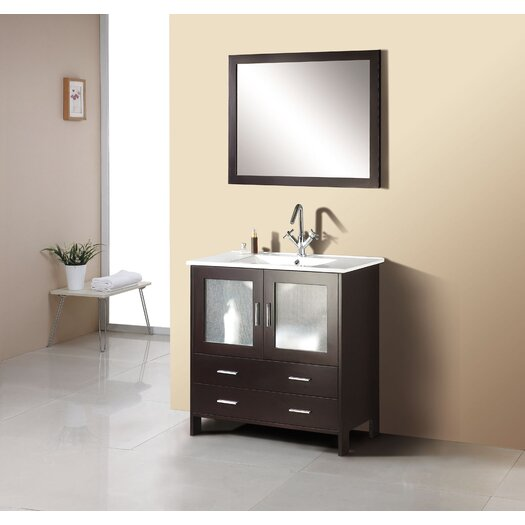 "Virtu Felice 35.5"" Bathroom Vanity Set"