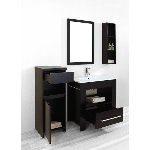 "Virtu Masselin 32"" Bathroom Vanity Set with Single Sink"
