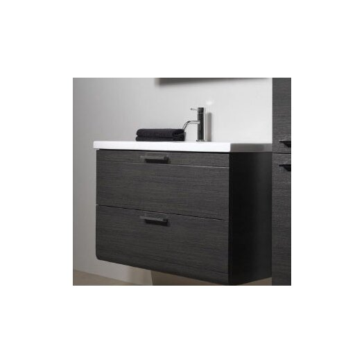 "Iotti by Nameeks Luna 39"" Fitted Ceramic Vanity Top"