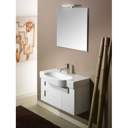 "Iotti by Nameeks Enjoy NE4 35.4"" Wall Mounted Bathroom Vanity Set"