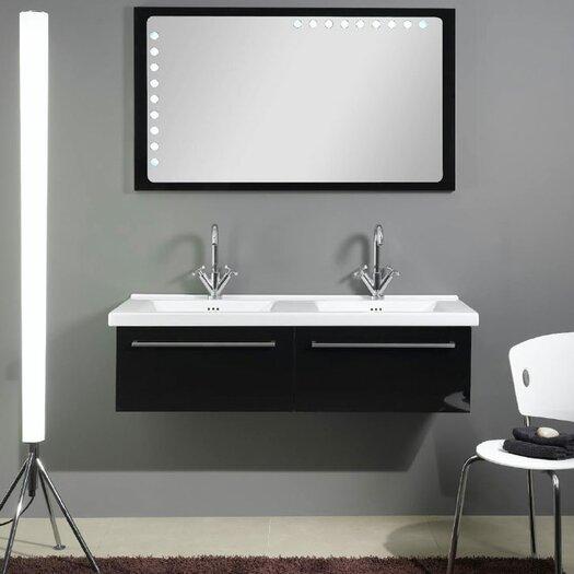 "Iotti by Nameeks Fly 49"" Bathroom Vanity Set with Double Sink"