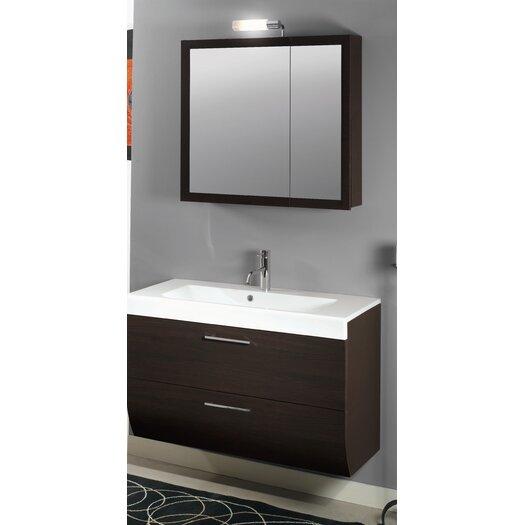 "Iotti by Nameeks New Day 38.3"" Wall Mounted Bathroom Vanity Set"