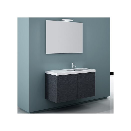 "Iotti by Nameeks Space 39.3"" Wall Mount Bathroom Vanity Set"