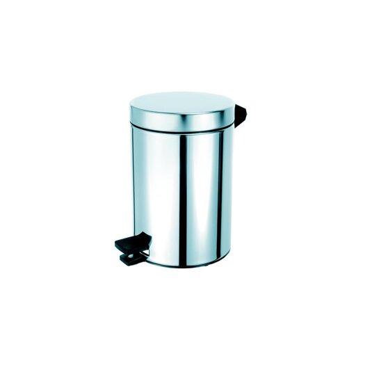 Geesa by Nameeks Standard Hotel 0.8-Gal. Pedal Waste Bin