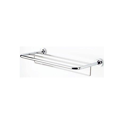 "Geesa by Nameeks Luna 25.2"" Wall Mounted Bath Towel Shelf with Towel Bar"