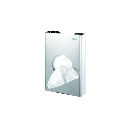 Geesa by Nameeks Standard Hotel Bag Dispenser in Stainless Steel