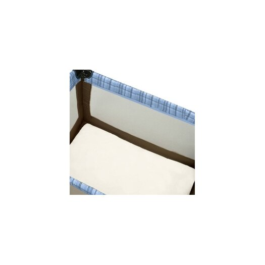 Baby Luxe by Priva Certified Organic Cotton Play Yard Sheet with Safety Corners in Natural