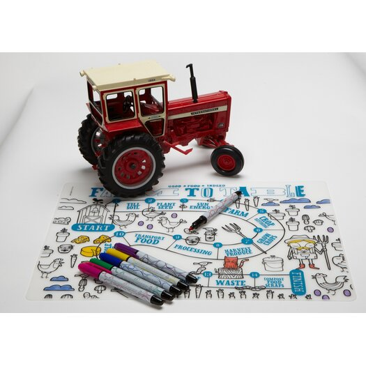 Modern-twist Mark-mat Kid Box Farm to Table Placemat