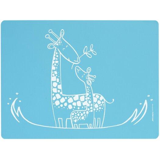 Modern-twist Meal-Mat Giraffe Giggles Placemat