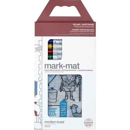 Modern-twist Mark-mat Kid Box Farm to Table Placemat