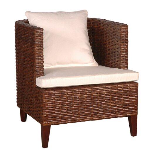 Jeffan Ellese Fabric Barrel Chair