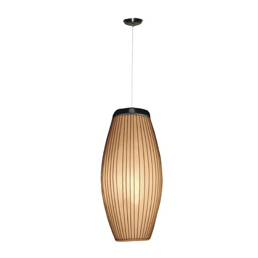 Jeffan Kuta Ellipse 1 Light Hanging Lamp