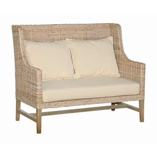 Jeffan Hilton High Back Loveseat