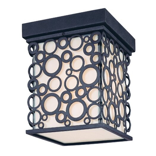Troy Lighting Aqua Exterior 1 Light Flush Mount